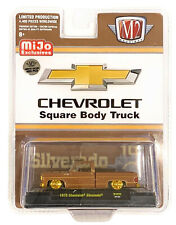 """M2 1:64 Chevy Silverado 1975 """"The Brown Bagger"""" Suare Body Truck MJS29 chase"""