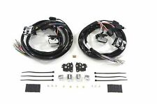 Handlebar Wiring Kit Chrome Switches for 2007-13 Harley Touring Radio and Cruise