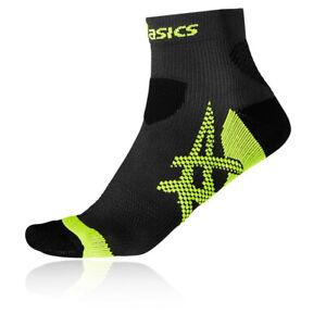 Asics Unisex Kayano Laufen Socken Schwarz Grau Sport Atmungsaktiv Leicht