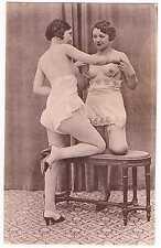 Carte Photo Nu Originale Deux Splendides Jeunes Femmes Nues