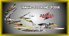YAMAHA GP1200R AND GP1300R jet ski  SEMI CUSTOM GRAPHICS KIT Classic