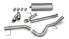 Corsa Polished Sport Cat-Back Exhaust system for 2011 Toyota Tundra 5.7L V8