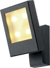 4w LED 3000k ip54 Nero LED luce muro regolabile per uso esterno