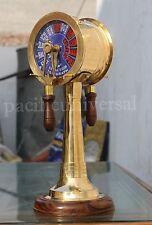 "Nautical Brass Telegraph Maritime Ship Engine Room Telegraph Desk Telegraph 14"""