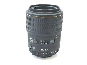 Sigma EX 105mm F2.8 D Nikon AF Mount Macro Lens. Stock No u13523