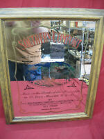 Vintage Southern Comfort Mirror Sign Bar Pub Man Cave Drink Of The South