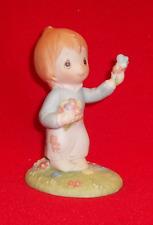 Betsey Clark Figurine Girl Holding Basket