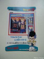 Carte Dragon Ball Z Card DBZ / Hero Collection Part 3 - Check list 4 / NEW