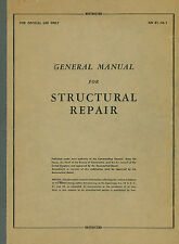 US GENERAL MANUAL FOR STRUCTURAL REPAIR / AN 01-1A-1 /1943