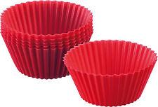 formas Muffin 30142260 SILICONA ROJO 6 piezas muffinform von WESTMARK