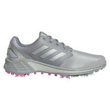 NEW Mens Adidas 2021 ZG21 Golf Shoes Grey / Silver / Pink 10.5 WIDE