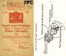 Enfield/Webley .38 Revolver/Pistol 1942 - British Small Arms Training