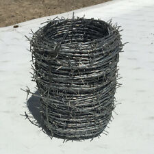 Galvanized Barbed Wire - 300 feet per roll - 16 gauge - HIGH STRENGTH