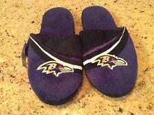 Baltimore Ravens slippers NWT size Large L. NFL Ravens