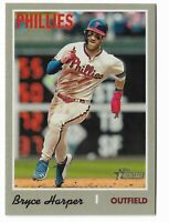 2019 Topps Heritage High Number Action Variation Bryce Harper Philadelphia SP