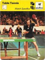 1978 Sportscaster Card Table Tennis Match Specifics #02-05 NRMINT.