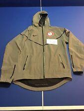 Nike 2012 London Olympics Men's Large USA Team 3M Flash Podium Jacket USED