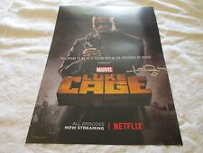 NYCC 2016 Exclusive Luke Cage Diamondback Poster Signed by Eric Laray Harvey