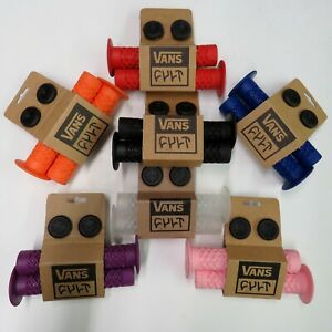 Vans Cult Handle Bar BMX Grips Flanged 150 mm Soft Waffle All Colors