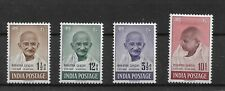 INDIA 1948 1ST ANNIVERSARY OF INDEPENDENCE SET OF 04 SG305-308 (MH) HIGH C.V