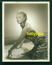 LANA TURNER VINTAGE 8X10 PHOTO GLAMOROUS FASHION DOUBLE WEIGHT