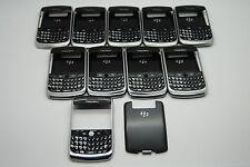 LOT of 10 BlackBerry Curve 8900 AT&T Front, keypay, door,  OEM Part REF