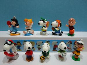 Komplettsatz Peanuts Sport Japan 2002 + 1 Bpz  100% Original