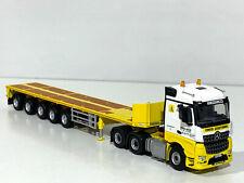 "Mercedes Arocs 6x4 ballast trailer""Mediaco""WSI truck models 01-2453"