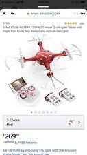 SYMA X5UW WIFi FPV 720P HD Camera Quadcopter Drone With Flight Plan Route App