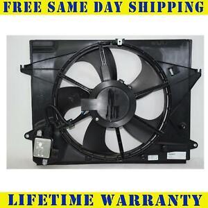 Radiator And Condenser Fan For Hyundai Sonata  HY3115151