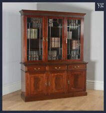 Mahogany Library Bookcase Antique Bookcases