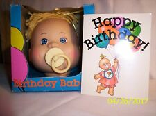 Crafts F197 - #2085 Birthday Babe Newborn with Top Knot