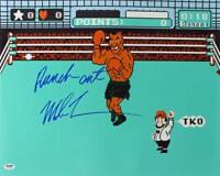 Mike Tyson 'Punch Out' Signed Authentic 16X20 Photo Autographed PSA/DNA ITP