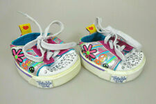 Build A Bear Twinkle Toes Skechers Schuhe Sneaker Shoes