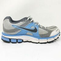 Nike Womens Air Pegasus 27 396040-001 Gray Blue Running Shoes Lace Up Size 7.5