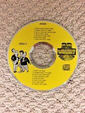 KARAOKE CDG disc by Music Maestro ABBA II 15 songs