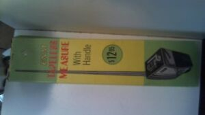 Vintage ENM Tapeless Measure With Handle & Box No. TM-13 With Original Box