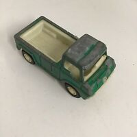 VINTAGE 1969 TOOTSIE TOY GREEN TRUCK METAL PICKUP TOY TRUCK USA