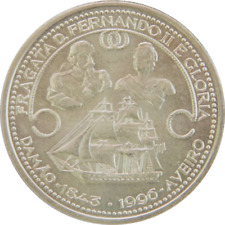 "Portugal - 1000 Escudos 1996 ""Frigate Ferdinand II"" - Large Silver Coin - KM#688"