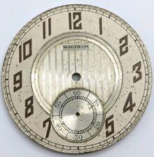 Vintage Original Waltham 12 Size Fancy Dial for pocket watch