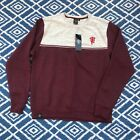 Manchester United Sweatshirt Jumper Sweater XXL burgundy Grey Marl