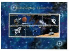 VINTAGE CLASSICS - Sierra Leone Space Exploration - Sheet Of 6 - MNH