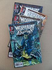 Wolverine / Punisher : Revelation  1 - 4 . Marvel Knights .1999 .VF / VF - minus