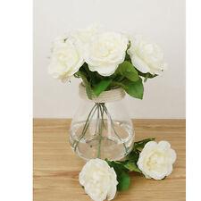 Artificial Imitation Night Rose Hibiscus Flowers Wedding Home Garden Bouquet De