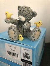 EXTREMELY RARE - JUST HATCHED - BOXED ME TO YOU EASTER CHICKS FIGURINE ORNAMENT