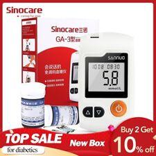 Sinocare Blood Glucose Meter Test Strips Glm Medical Blood Sugar Meter Diabetes