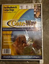 Gate Way Pet Door for Screens