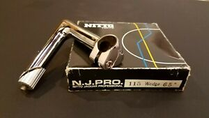 *NEW* NITTO NJS N.J. PRO Jaguar Stem STEEL 25.4 115mm 65 Degree *NEW IN BOX*