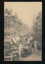 LONDON Cheapside nice street scene Tuck #2401 c1900s? Sepia PPC