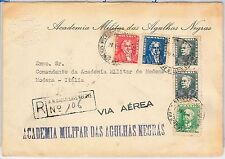 BRAZIL -  POSTAL HISTORY - COVER - BIRDS - from military accademy: BLACK EAGLES